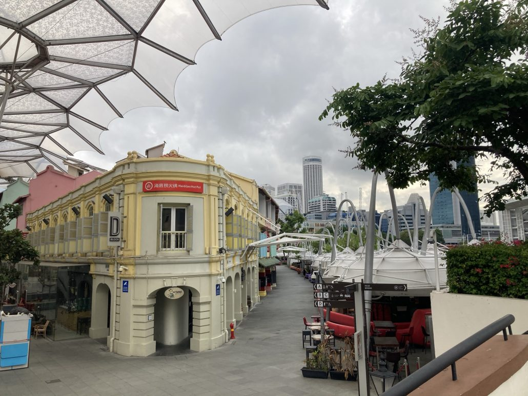 Canninghill Piers Location at Singapore River