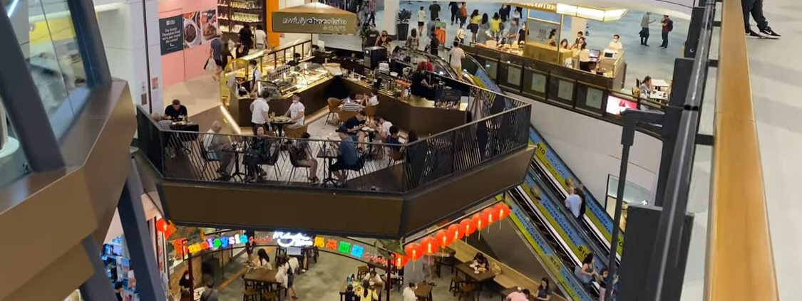 Great World City Shopping Mall Near to Canninghill Piers