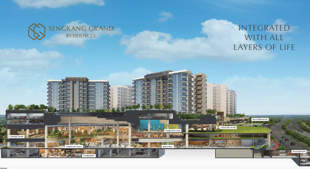 Sengkang Grand Residences Condo by City Developments Limited Also Developer for Canninghill Piers at River Valley by City Developments Limited CDL and Capitaland